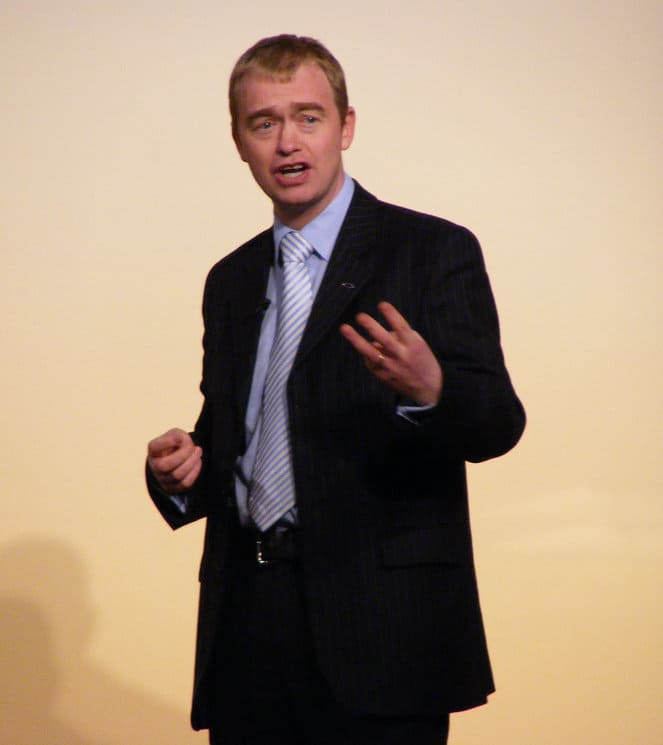 Public narrative: case study from Tim Farron